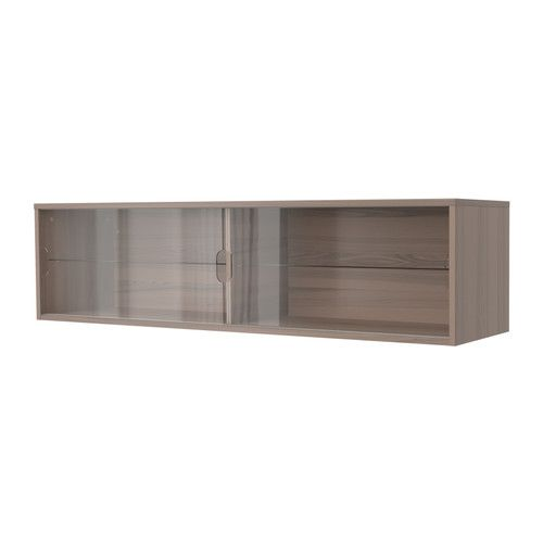 Maybe For Kitchen Gray Living White Or Bedroom Black Brown Galant Wall Cabinet With Sliding Doors Ikea