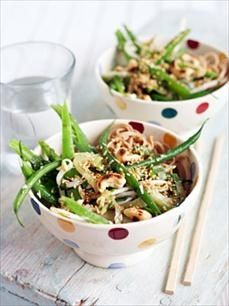 30-Minute Recipes  I love this salad and the bowls too..