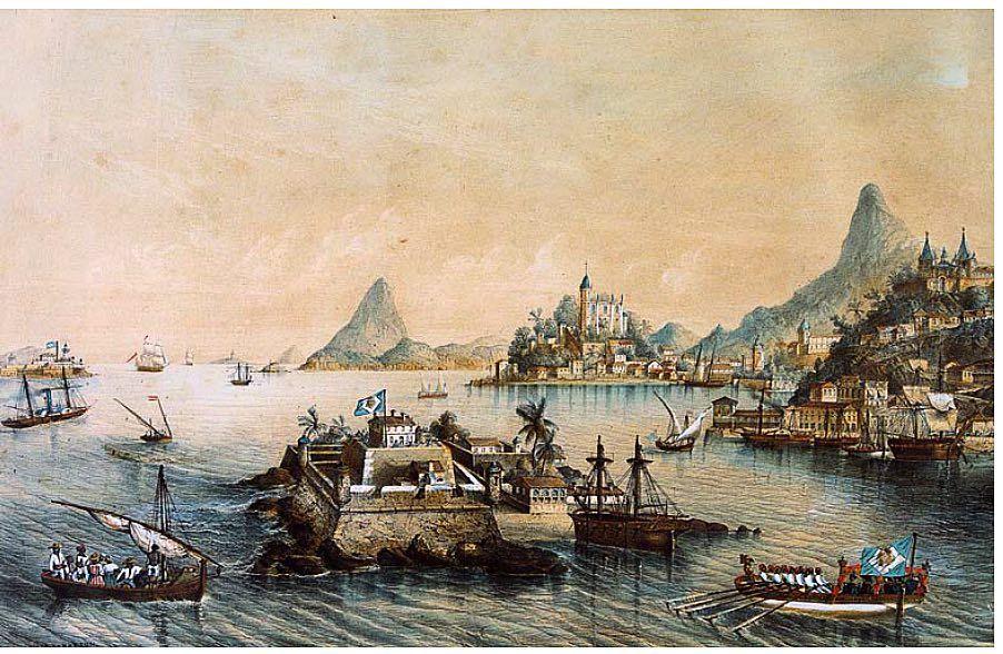 Ilha De Villegagnon Louis Lebreton 1848 1850 Observe Os 2