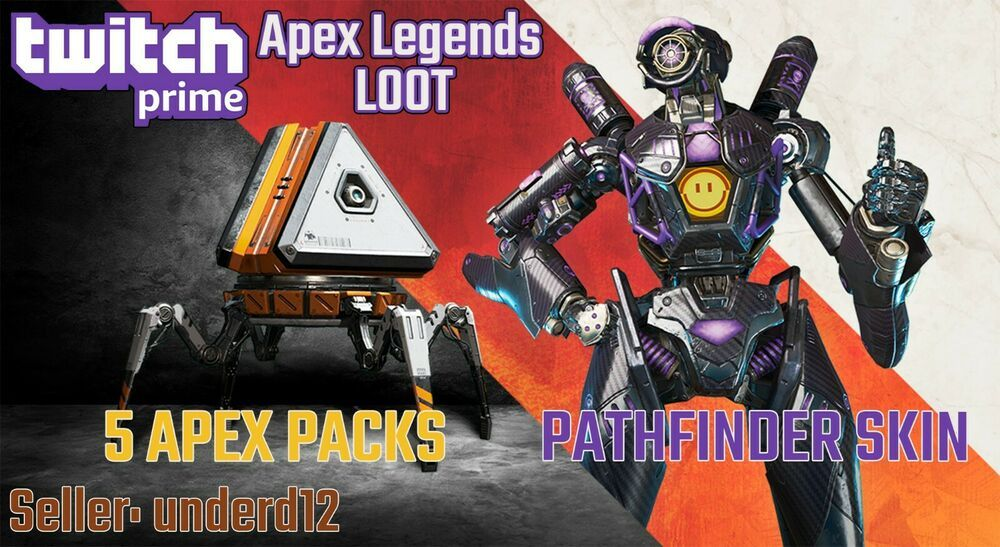 Apex Legends Twitch Prime Loot 5 packs + Omega Point Skin