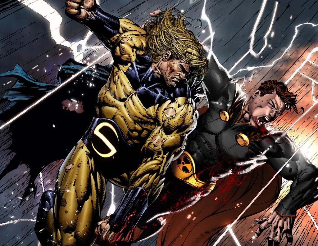 Sentry_vs_Hyperion | Sentry | Pinterest | Marvel, Squadron ...