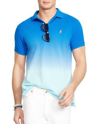 Polo Ralph Lauren Ombr Slim Fit Polo Shirt Bloomingdale's