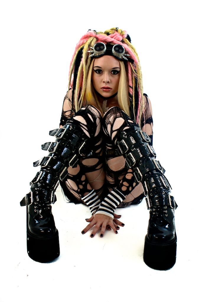 Cyber Goth Girl 4 By Jacqueinabox People Goths