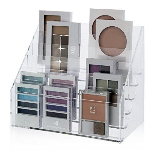 Makeup Pallet Organizer   Large US Acrylic, LLC Http://www.amazon