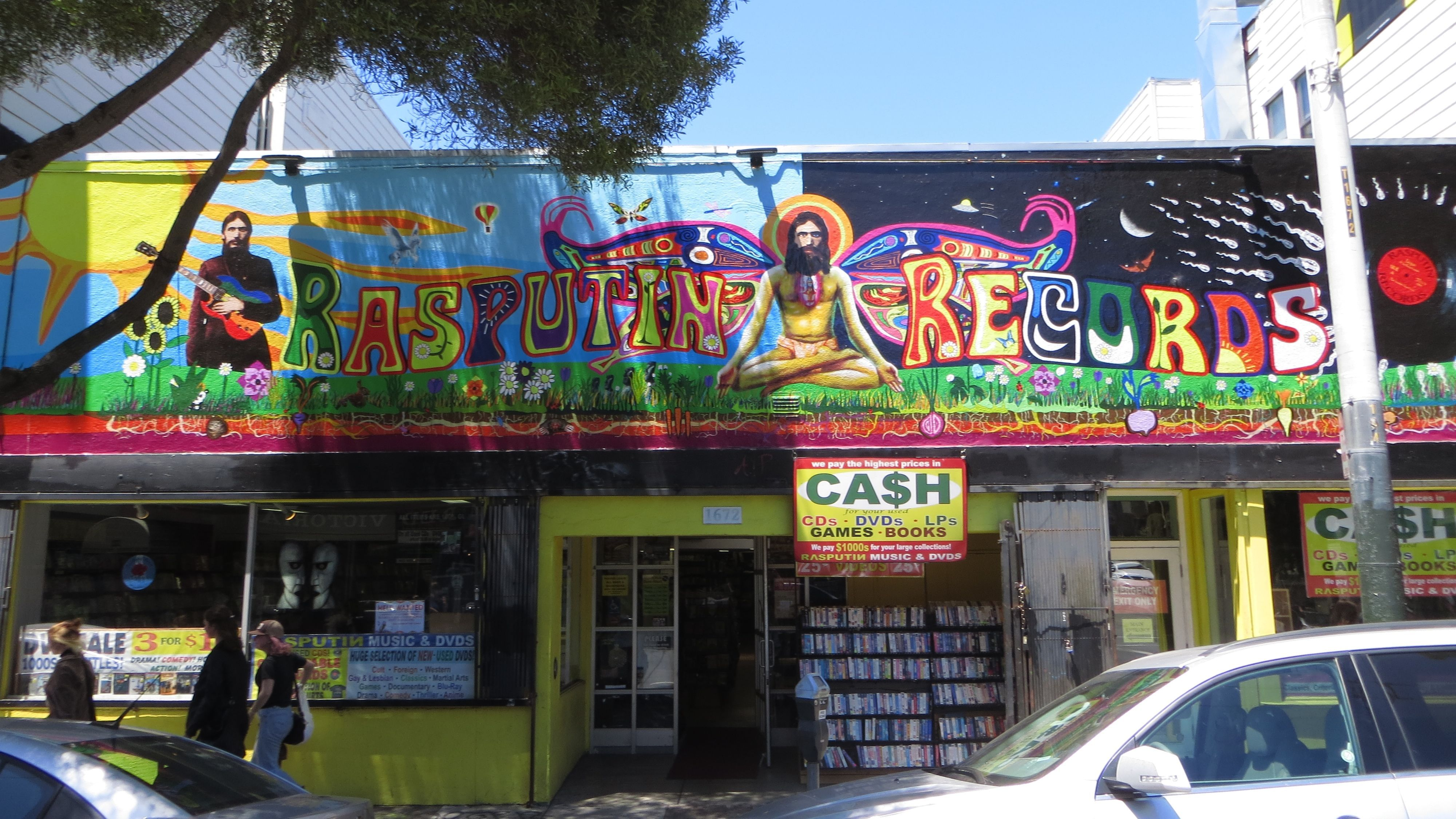 Rasputin Music Vinyl Cafe Rasputin Record Store