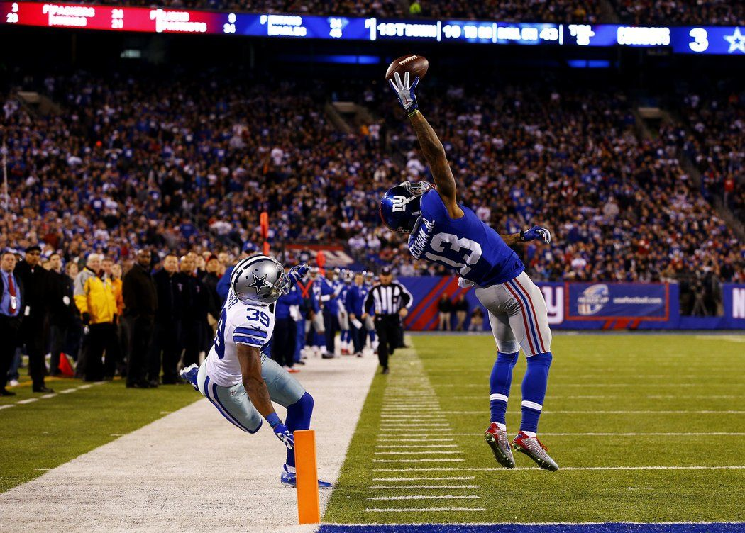 A Great Catch But A Victory Is Just Out Of Reach Beckham Jr Odell Beckham Jr Catch Odell Beckham Jr