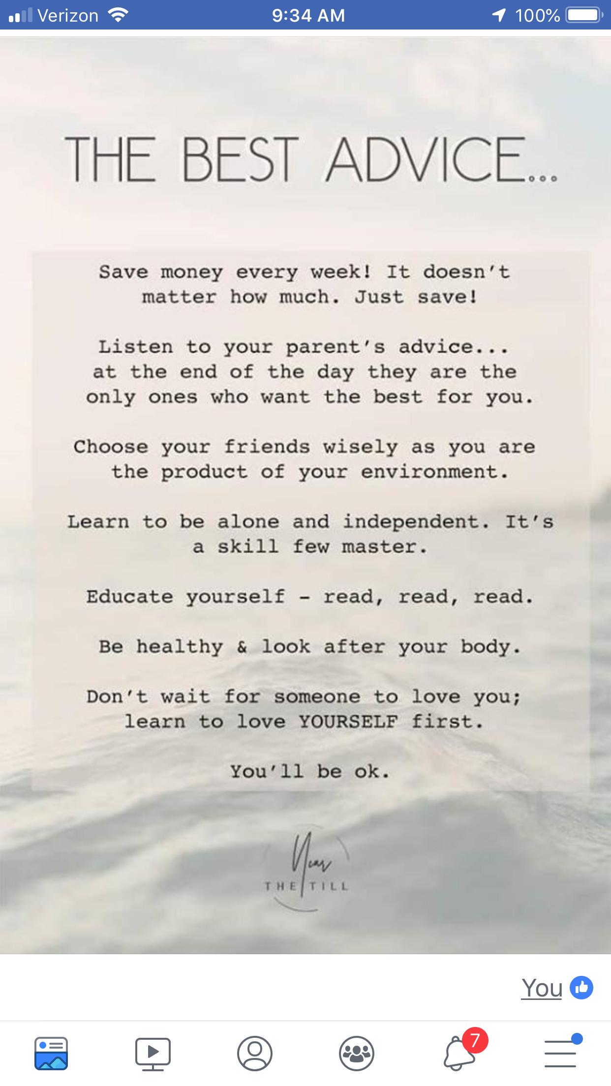Best Advice.. 💫ॐ..z❤️NSpiceC🌶🦋4Jan4