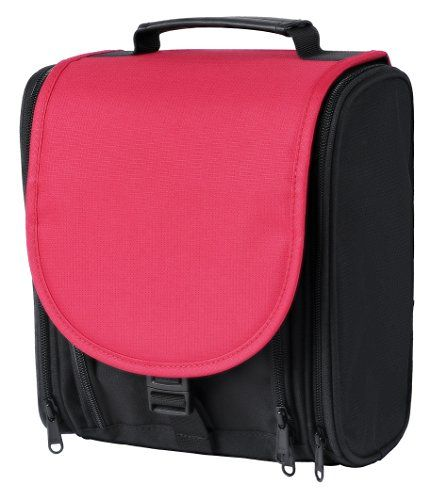 Hair Accessories Travel Toiletry Bag Hanging Organizer For Cosmetic Makeup Men Women Nylon Blackred Check Out The Image By Visiting