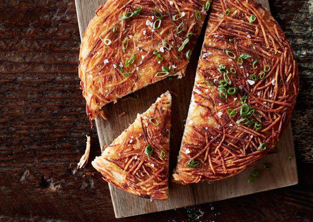 Skillet Hash Browns. #food #potatoes #hashbrowns #breakfast