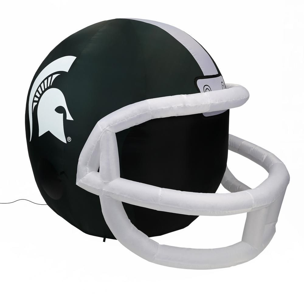 Ncaa Michigan State Spartans Team Inflatable Helmet Fi 31666 In 2020 Michigan State Spartans Helmet Nfl Chicago Bears