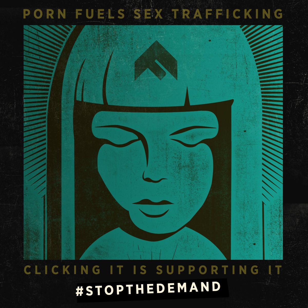 Trafficking human sexual slavery