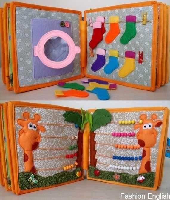 Quiet Busy Book Book Activity Book By CuteGiftsAndCrafts