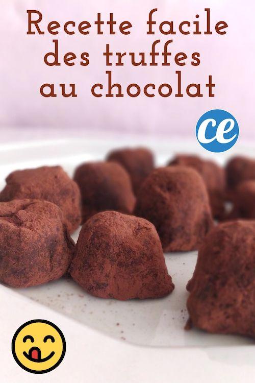 Truffes Au Chocolat : La Recette Simplissime Pour Épater Vos Invités.