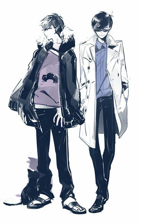 Osomatsu San Karamatsu And Ichimatsu Anime Osomatsu カラ