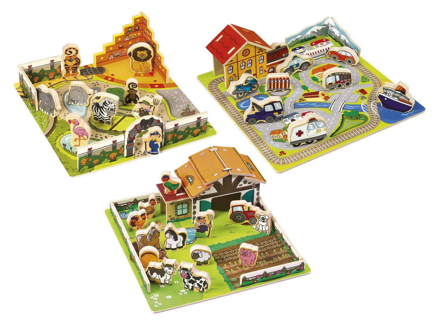Playtive Junior Steckpuzzle 1 Cards Toys Lidl