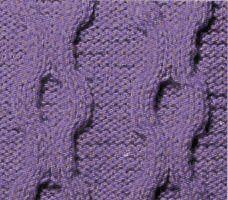On obtient les torsades en inversant généralement 4 mailles ou plus. On emploie une aiguille auxiliaire pour tenir les mailles en attente tandis que l'on tricote les autres. Les mailles gardées sur le devant de l'ouvrage feront une inclinaison à gauche...