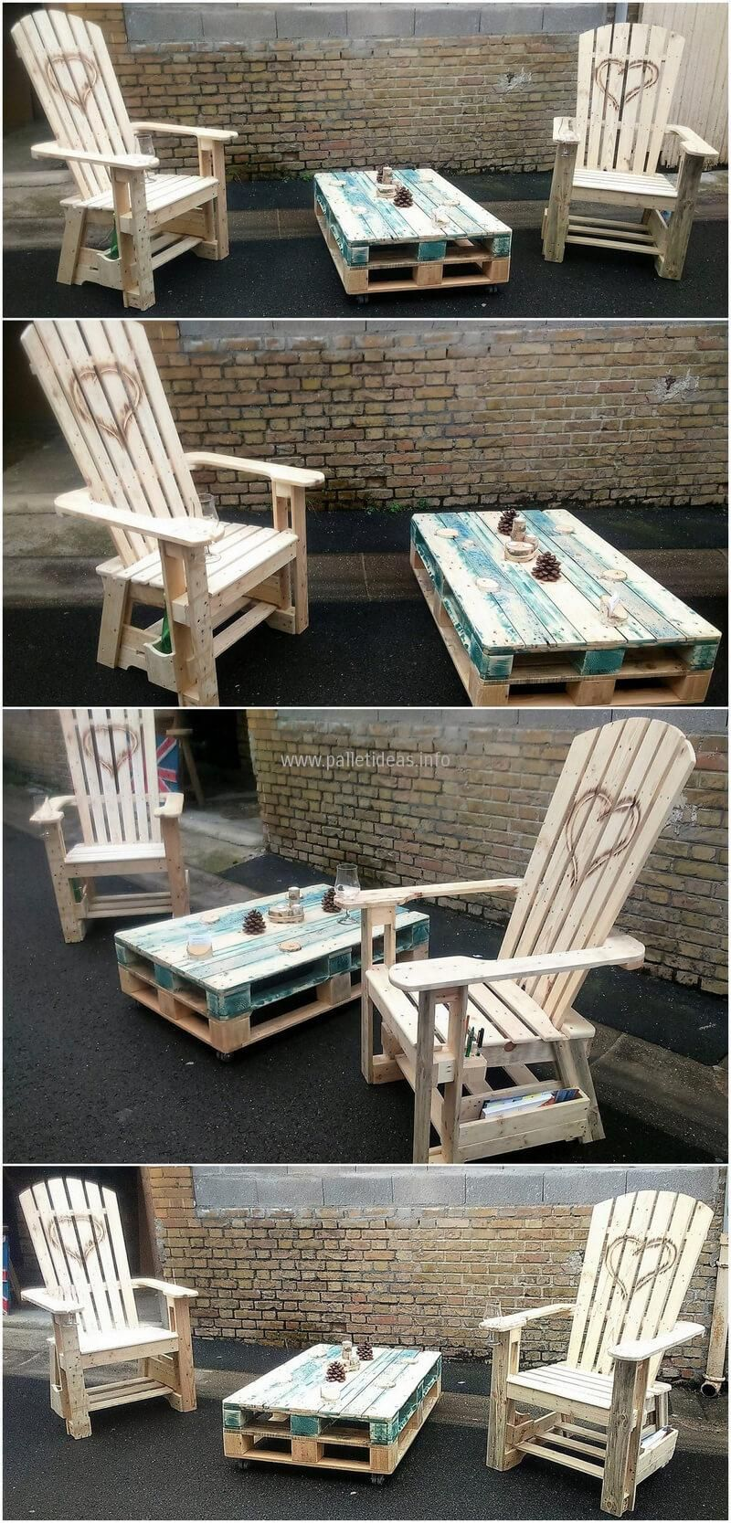 shipping pallet furniture ideas. Awesome Ideas For Reusing Shipping Wooden Pallets Pallet Furniture F