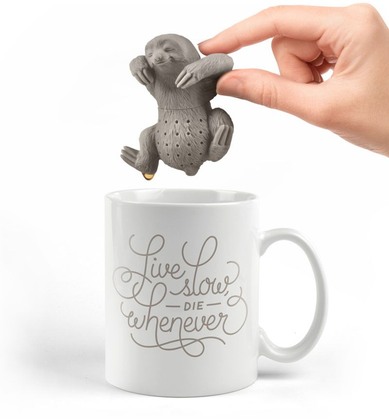 Faultier Teesieb | Faultier, Schöne geschenkideen und Dem den