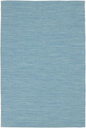 Plain Blue Rug