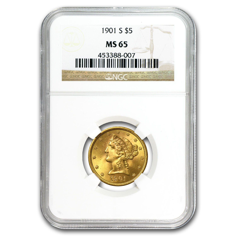 SKU#15543 1908 $20 Saint-Gaudens Gold Double Eagle No Motto MS-65 NGC