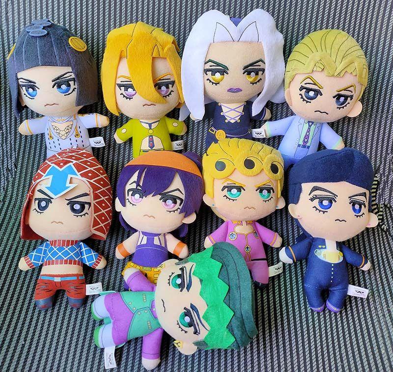 JoJo/'s Bizarre Adventure Golden Wind plush doll Crusaders Jotaro Kujo Noriaki