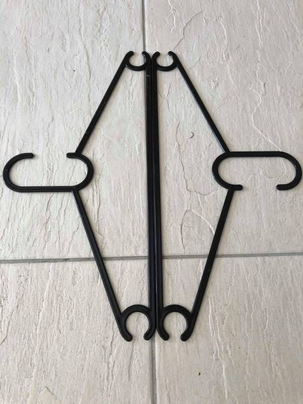 Clothing Hanger Snowflake Instructions (with pictures)