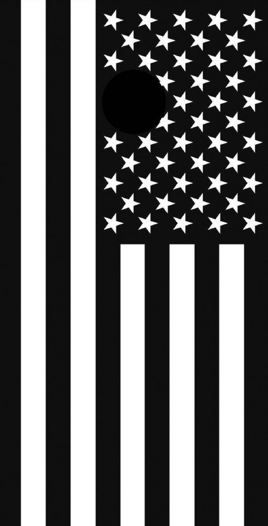 Free Shipping Black And White American Flag Themed Cornhole Etsy American Flag Cornhole Boards Cornhole Cornhole Boards