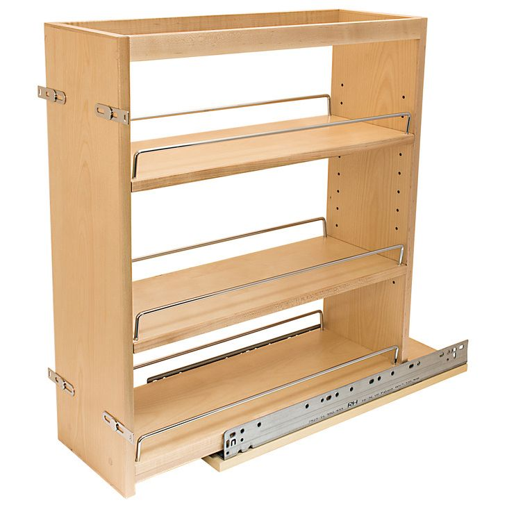 Wall Mount Spice Rack Plans: Base Cabinets, Pull Out Spice Rack