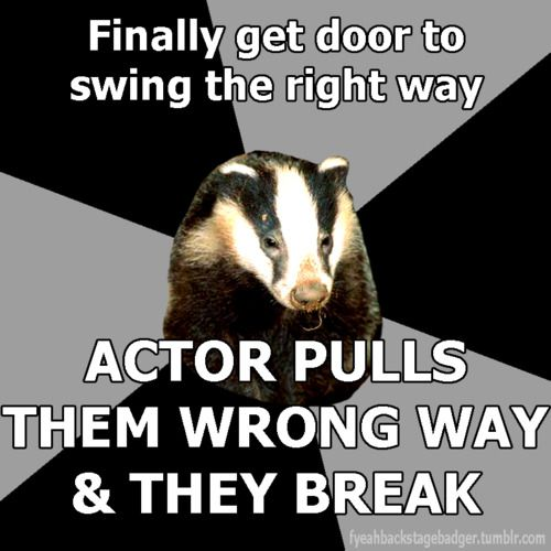 i hate doors so much  sc 1 st  Pinterest & backstage badger. Never failed that stupid gate for Cinderella ... pezcame.com