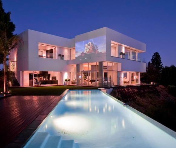 Maison de luxe aux etats unis maisons de r ve - Plan de maison luxueuse ...