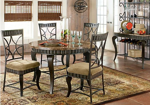 Shop For A Spring Valley 5 Pc Dining Room At Rooms To Gofind Best Hamlyn Dining Room Set Design Decoration