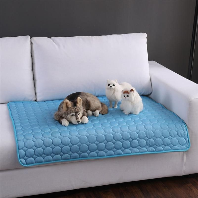 Summer Cooling Mats Blanket Ice Pet Dog Bed Sofa Mats For Dogs