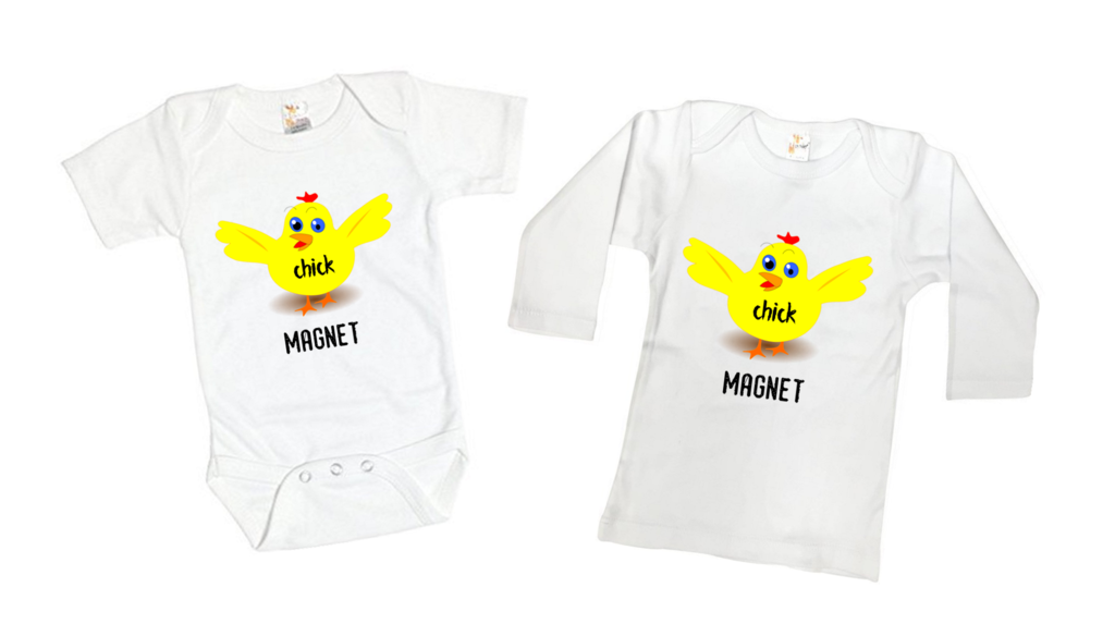 f4ff4d3a74f8 Chick Magnet Funny Tee Shirt or Bodysuit Chicken or Rooster Farm ...