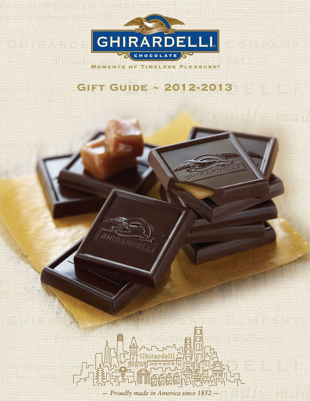 Coffeetableghirardelli chocolate ghirardelli