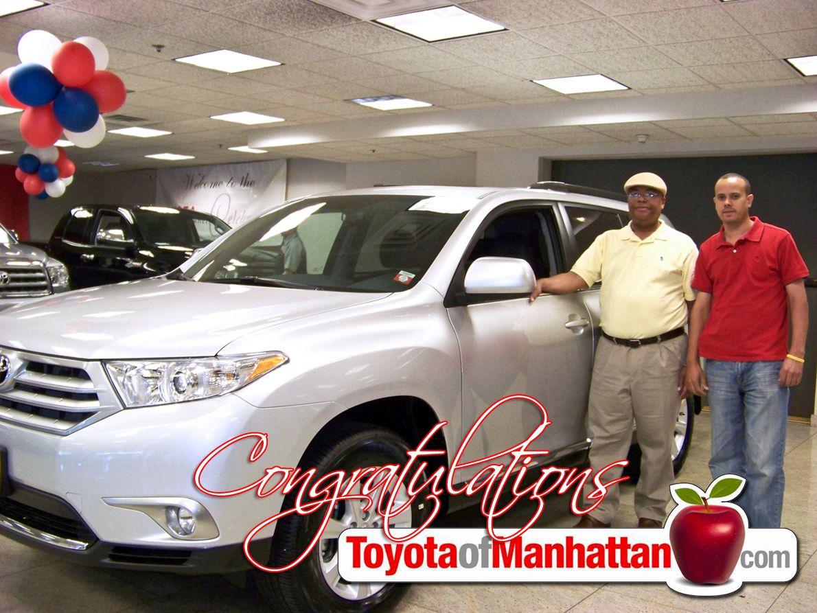 Toyota Of Manhattan >> Another Happy Toyota Of Manhattan Customer Randol With His