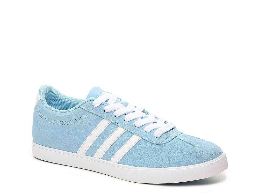 Powder Blue Adidas Women's Shoes Size 8