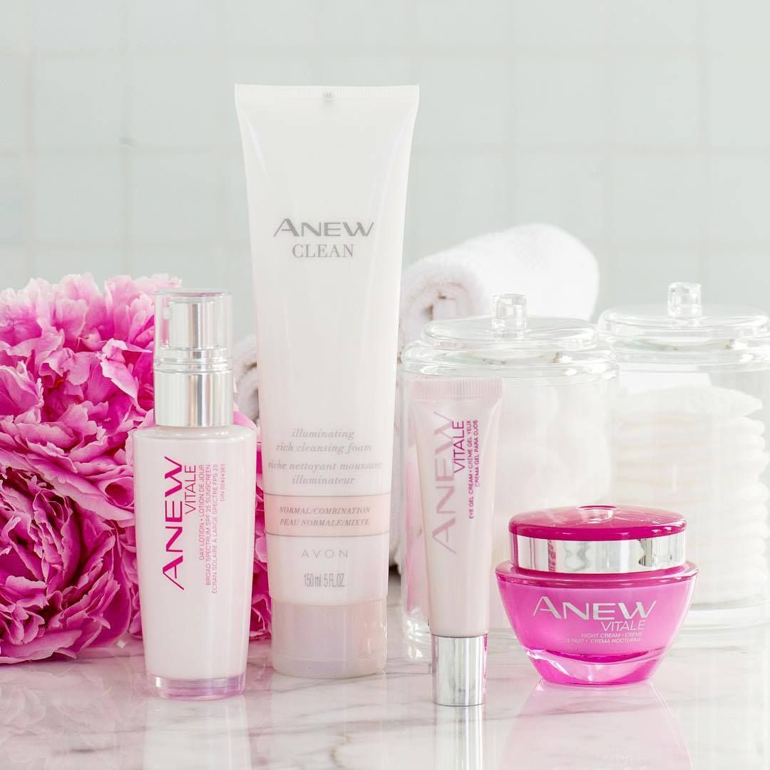 Wash the dirt away with our ANEW Clean Illuminating Rich Cleansing Foam & follow with our ANEW Vitale line for a well-rested look!