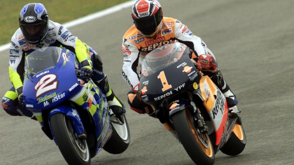MotoGP: Kenny Roberts Jr e Marco Lucchinelli na galeria das lendas