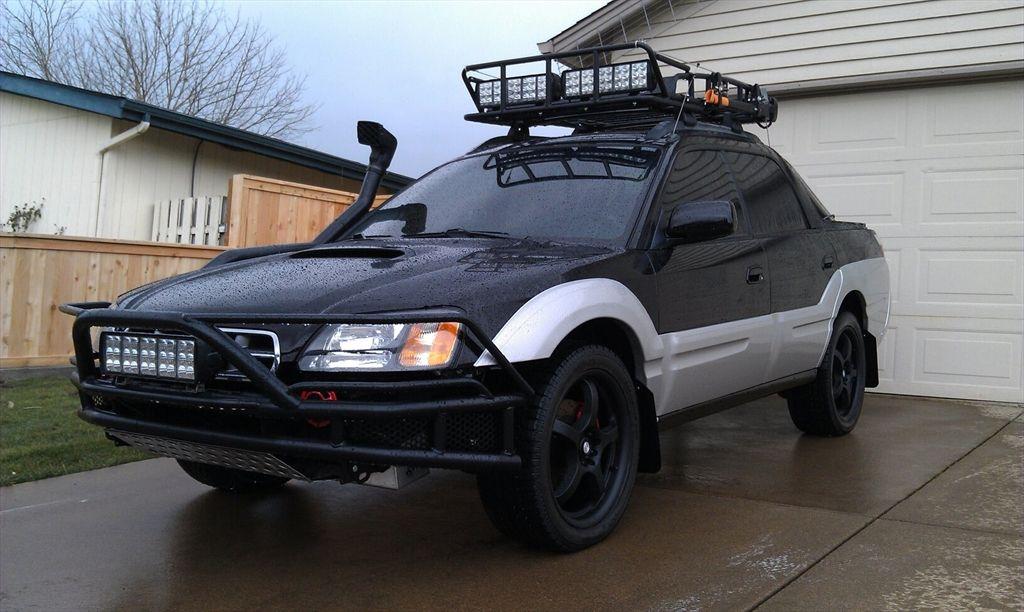 Roof Rack With Lights Subaru Baja Subaru Subaru Cars