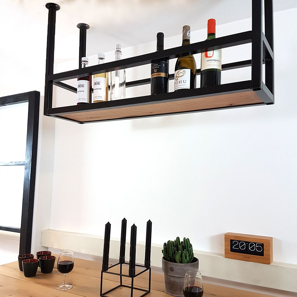 Betere Hoe vinden jullie dit nieuwe stalen bar rek (flessenrek) voor NM-12