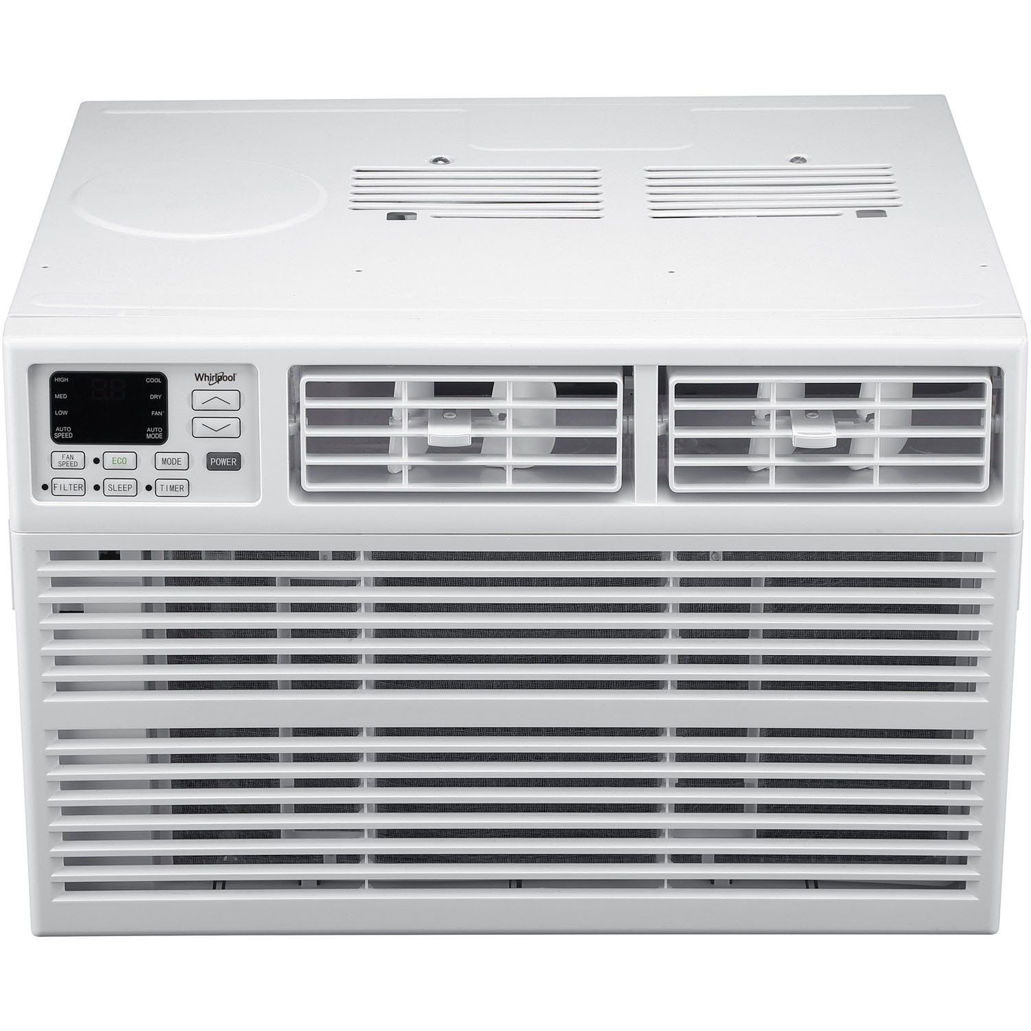 Whirlpool 10 000 Btu Window Ac With Electronic Controls White Window Air Conditioner Best Window Air Conditioner