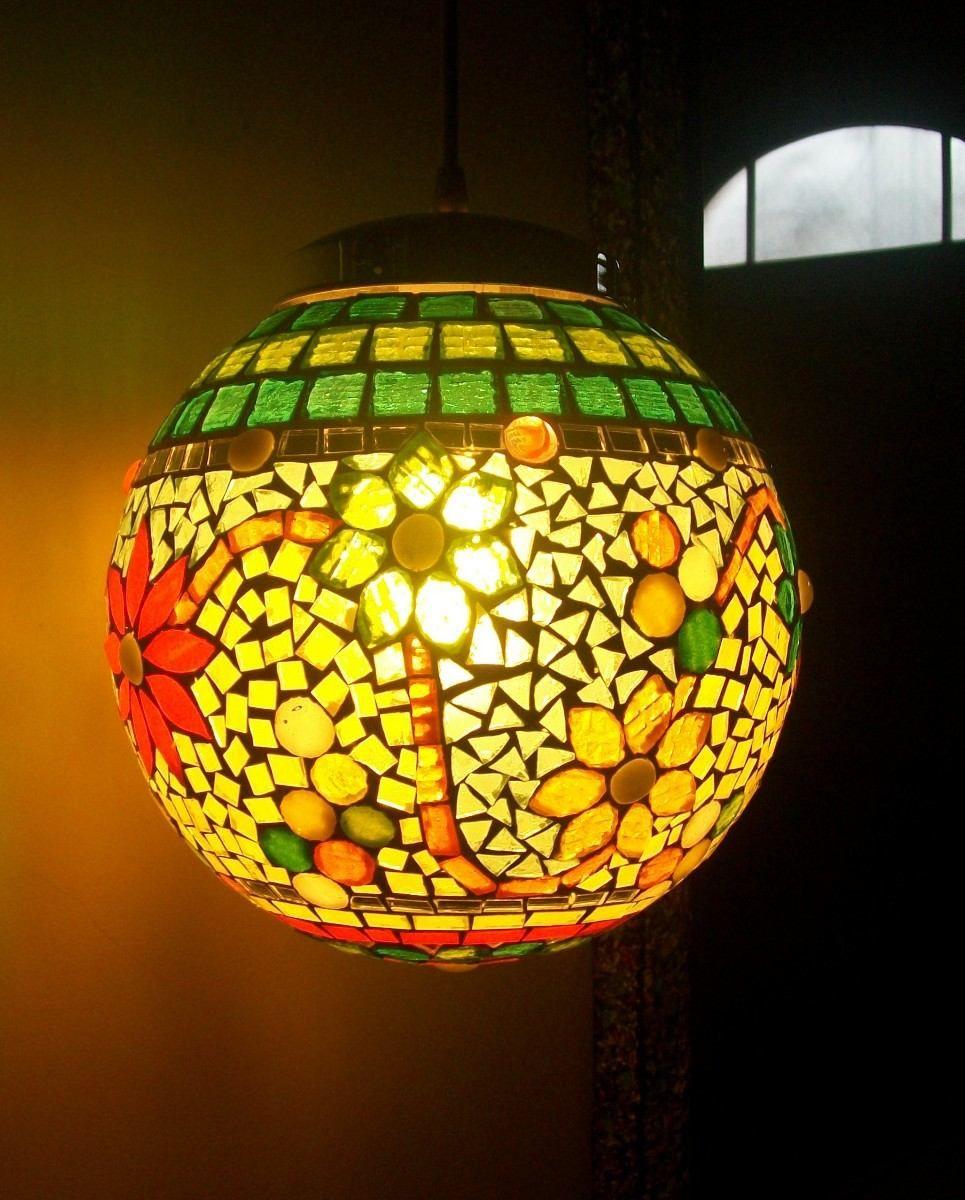 Lamparas colgantes y de mesa con venecitas luminarias - Luminarias colgantes ...