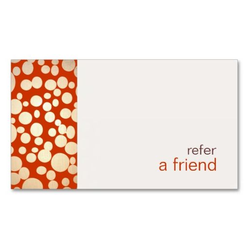 Modern and Hip Gold 3 Refer A Friend Coupon Salon Business Cards - coupon disclaimers