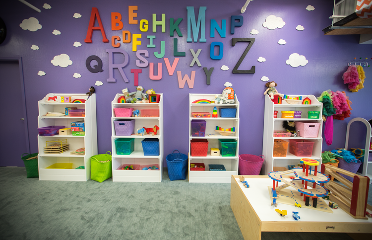 Wall in playroom?
