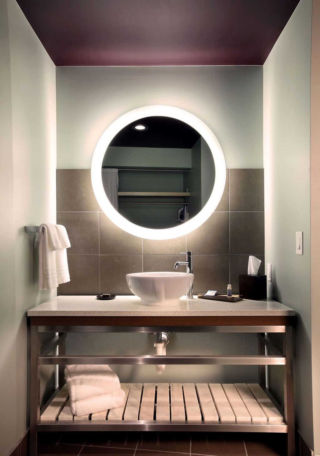 Trinity™ Lighted Mirror By Electric Mirror. Available At ProSource.