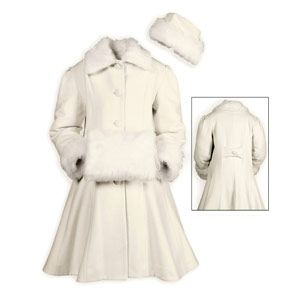 Winter Elegance Wool Coat | If I Had...A Children's Boutique ...