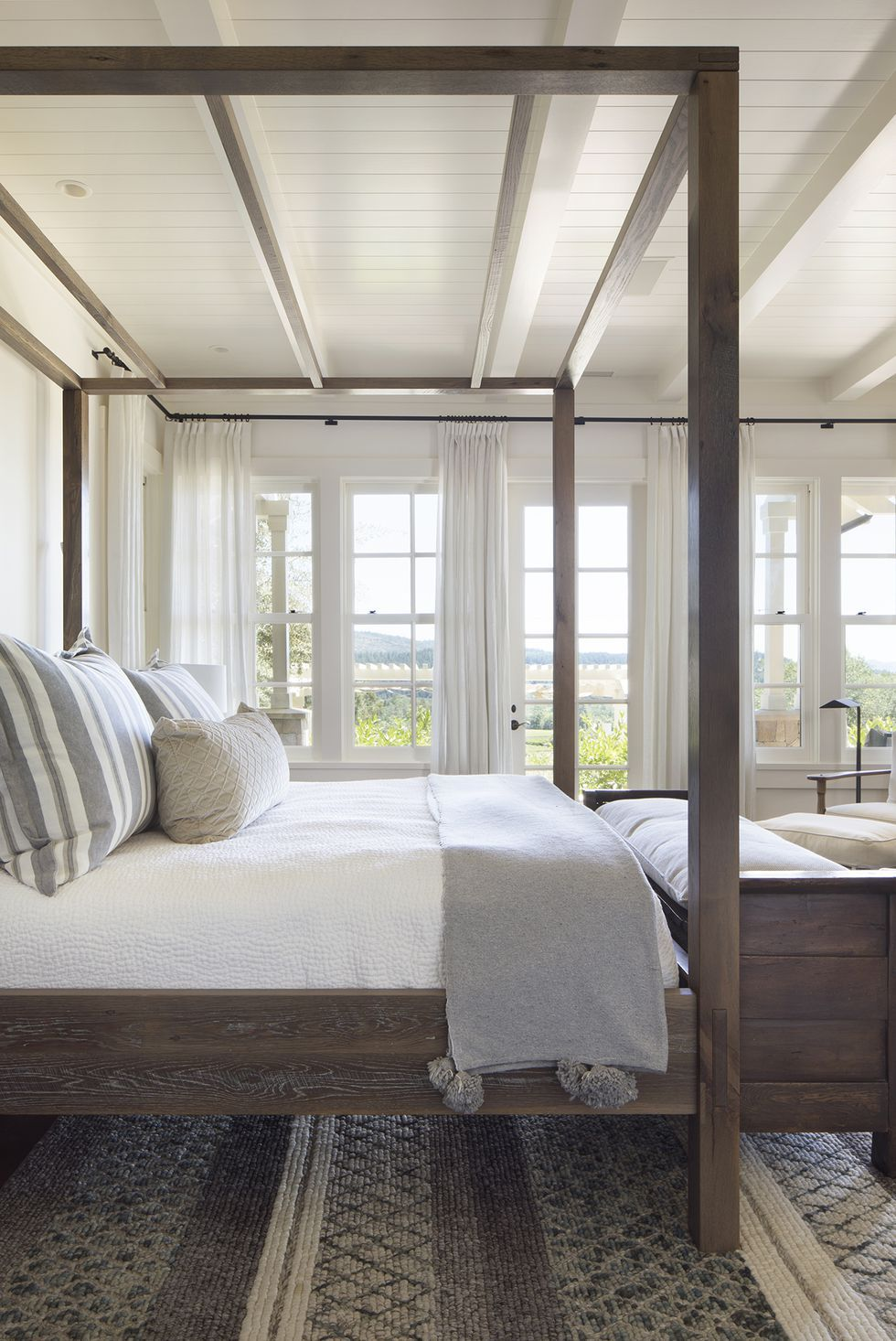 Upgrade Your Bedroom With A Captivating Wood Ceiling Modern Bedroom Design Wood Bedroom Design Bedroom Design Napa chictransitional master bedroom