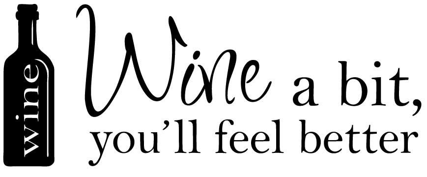 Wine a bit!