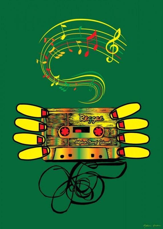 World-A-Reggae Poster Exhibition | One Love! | Reggae art, Reggae, Art