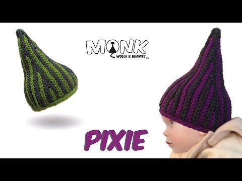 Mütze Bosnisch Häkeln Pixie Babymütze Kettmaschen Häkeln